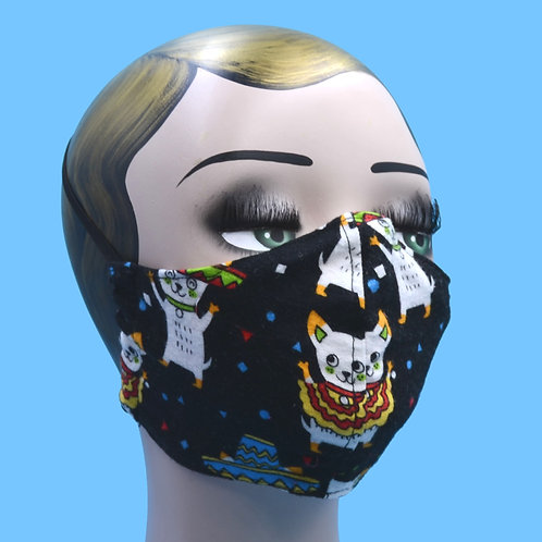 Mariachi Chihuahua Dogs Face Mask w/ Filter Pocket