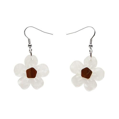 Sweet Like Honey Earrings by Erstwilder | White Flower