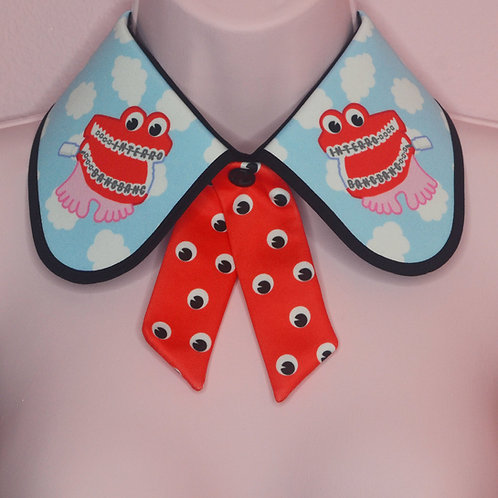 CHATTER TEETH COLLAR by InterroBangBang | Joke Shop Teeth
