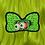 Thumbnail: RAT FINK COLLAR by InterroBangBang  | Green Hairy Collar with Flies & Eyes