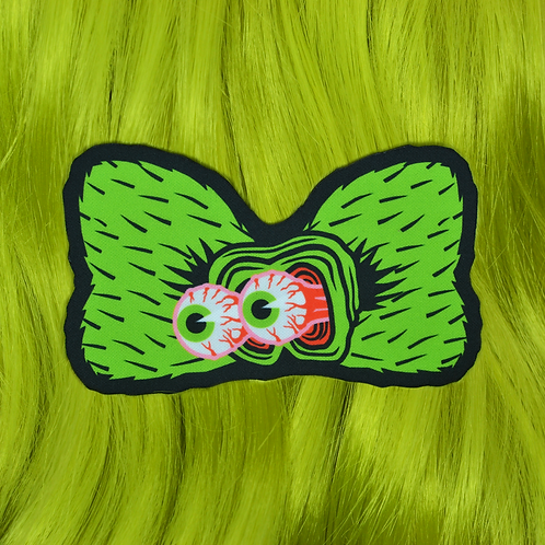 RAT FINK HAIR BOW CLIP by InterroBangBang
