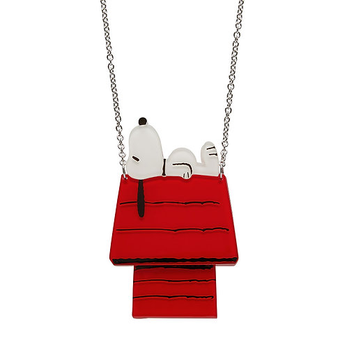 Nap Time Necklace by Erstwilder | Peanuts Snoopy