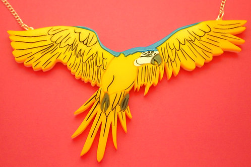 Macaw Necklace by KimChi & Coconut