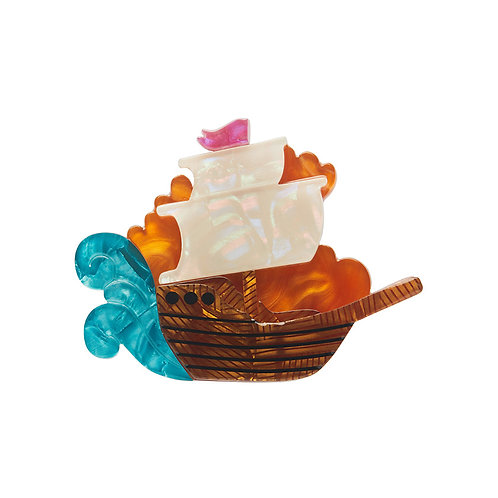Seafarer Mini Brooch by Erstwilder | Pirate's Ship