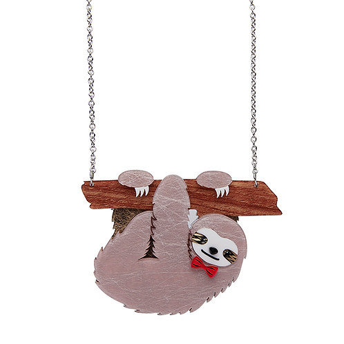 Cyril The Sloth Necklace by Erstwilder