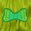 Thumbnail: CREATURE HAIR BOW by InterroBangBang    Creature from the Black Lagoon