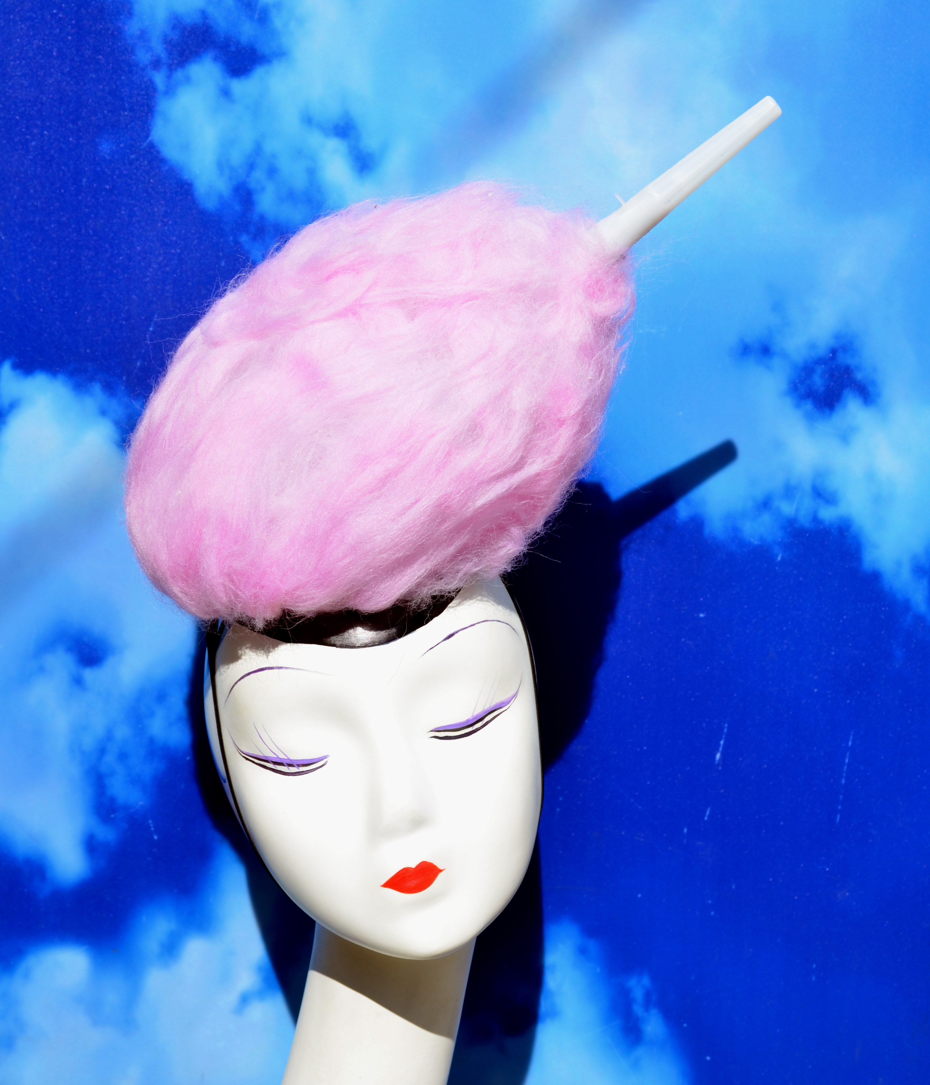 LIGHT UP Cotton Candy Headpiece