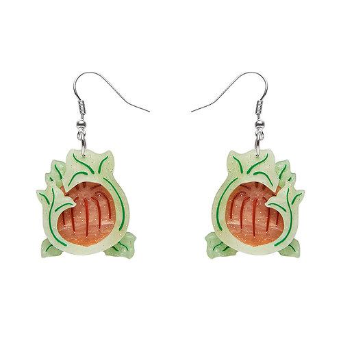 November Reign Earrings by Erstwilder | Flower