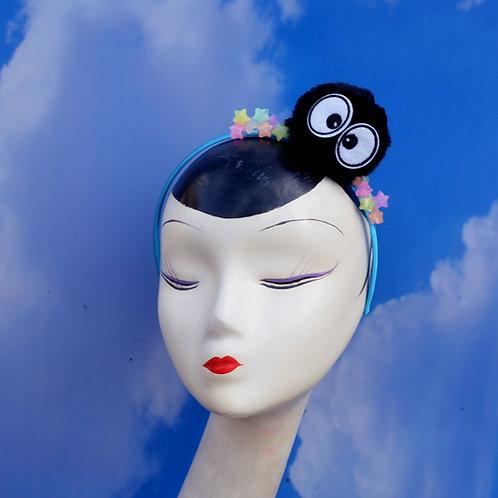 Spiried Away Soot Sprite & Glow-in-the-Dark Candy Stars Headband