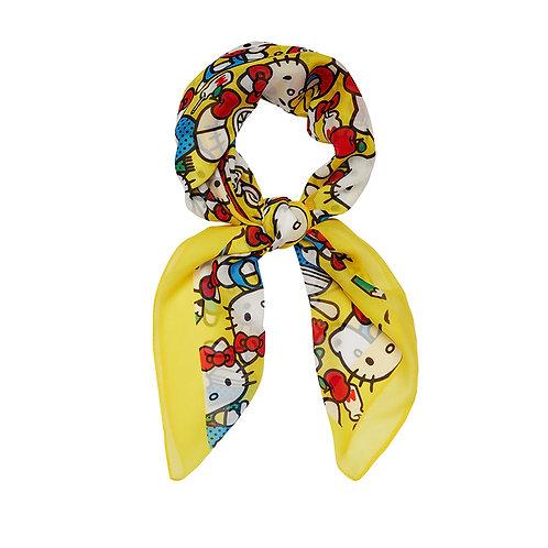 Hello Kitty Adventure Head Scarf by Erstwilder | Yellow