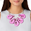 Thumbnail: Prawn Collar Necklace by Little Moose | Pink Shrimp