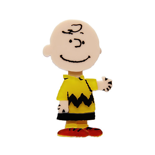Charlie Brown Brooch by Erstwilder | Peanuts