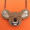 "Thumbnail: ""Dark Side"" Drop Bear/Koala Necklace by KimChi & Coconut"