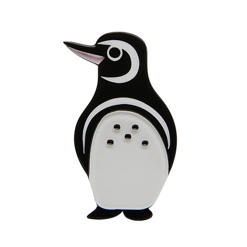 Northside Wanderer Penguin Brooch by Erstwilder | Bird