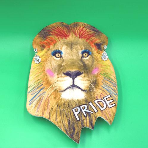 Full Face Lion Mask | LGBT Pride | Gay Pride Costume | Drag Queen | Gender Queer