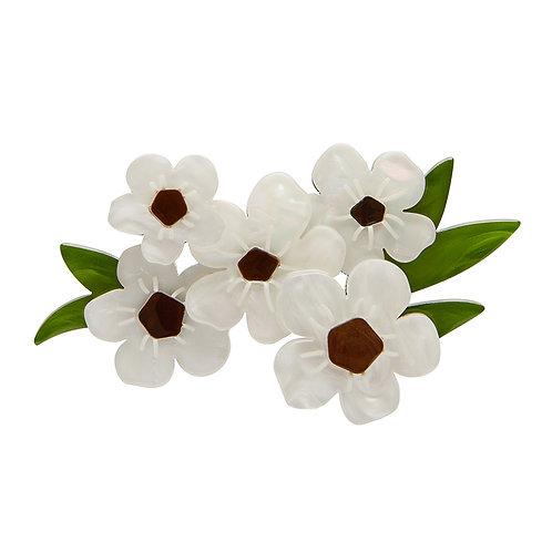 Sweet Like Honey Brooch by Erstwilder | White Flower