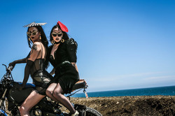Violet Chachki & Allie X All the Rage by Charlene Bagcal (1)
