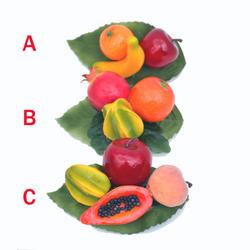 Labeled Carmen Miranda Tropical Fruit Ha