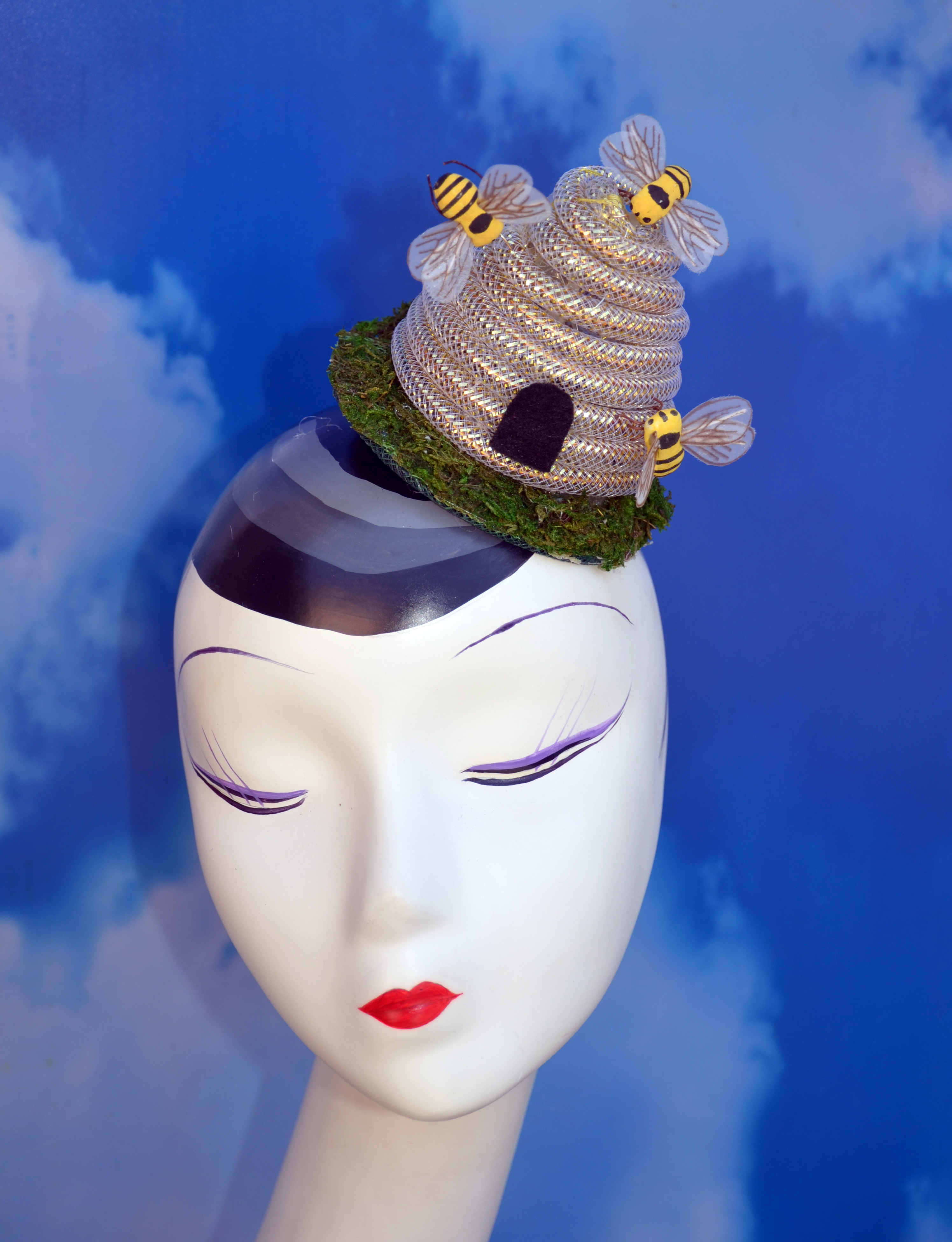 Busy Bee Beehive Hat