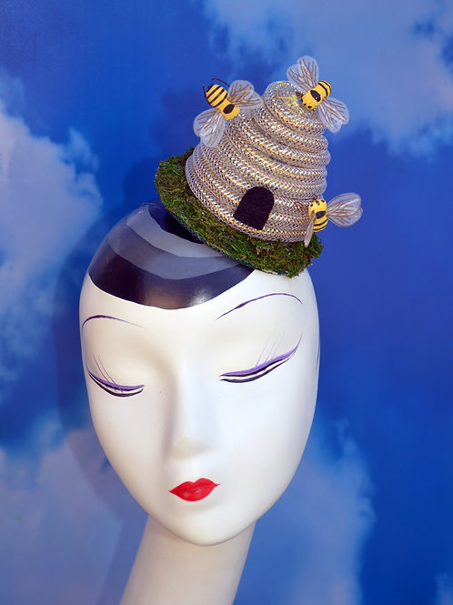 Busy Bee Beehive Fascinator