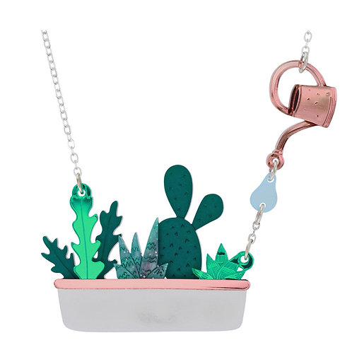 HOUSEPLANT WINDOW BOX NECKLACE by Little Moose | House Plants