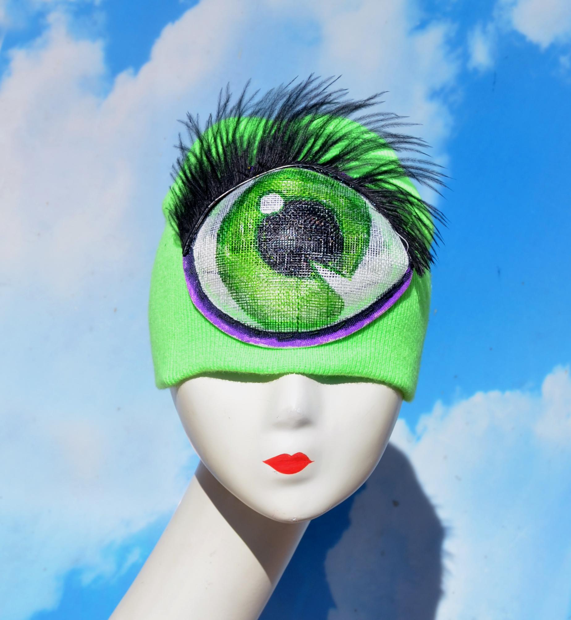 Iris Clops Beanie Costume Hat