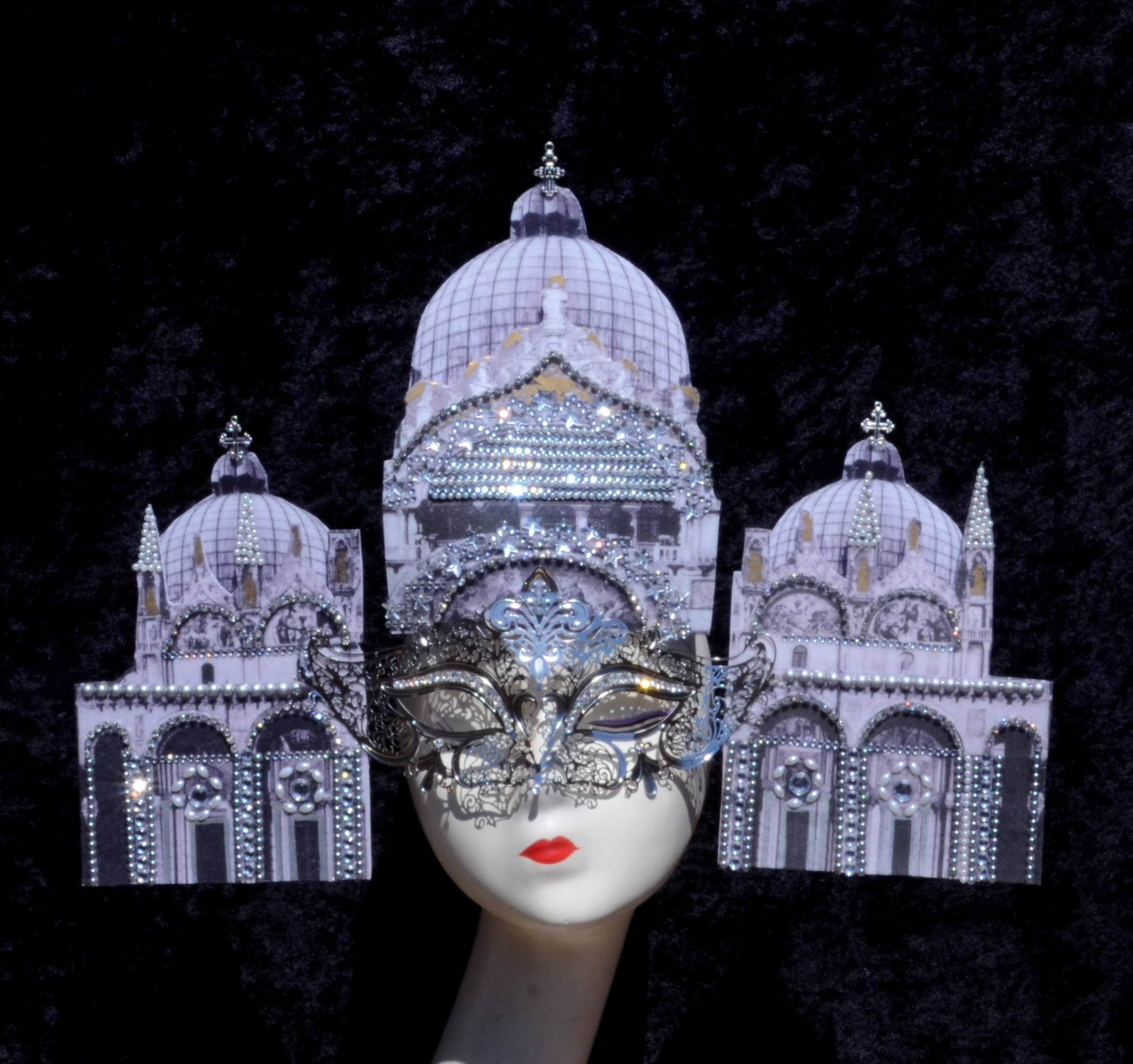 Saint Mark's Basilica Silver Mask