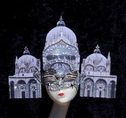 Saint Mark's Basilica Silver Mask