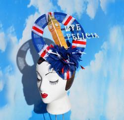 Big Ben Union Jack Fascinator Hat