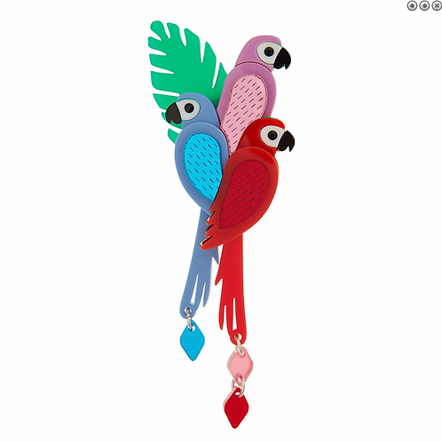 PARROT BROOCH by Little Moose | Bird | Enchanted Tiki Room