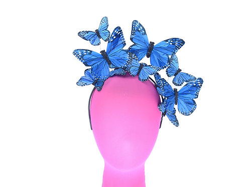 """The """"Dolly"""" -  Feather Butterfly Headband"""