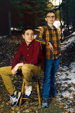 James and Leaf