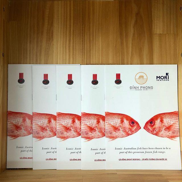 #brochure in #vietnamese @mori_seafood @
