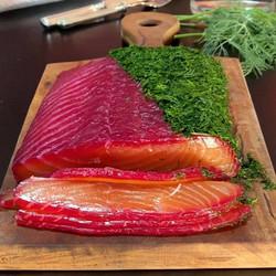 Cá Hồi muối