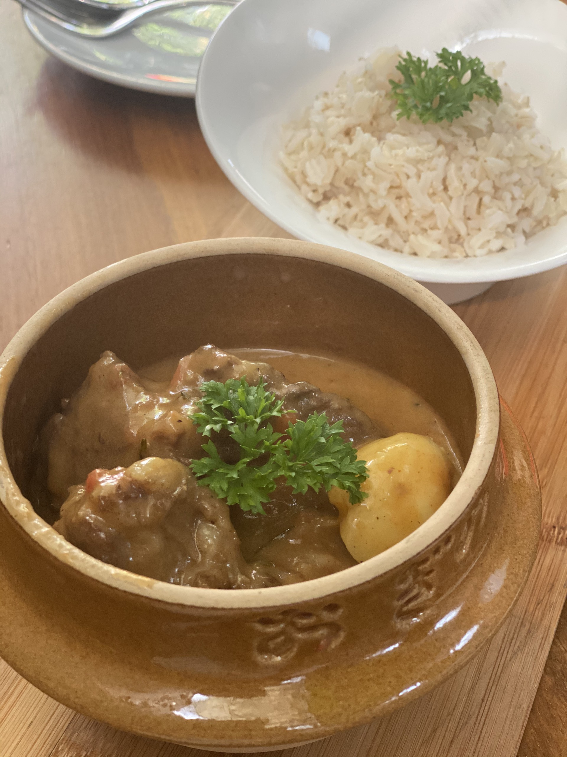 Aussie Lamb Curry