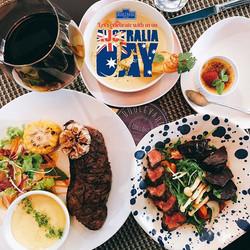 A must try set menu for Aussie Taste