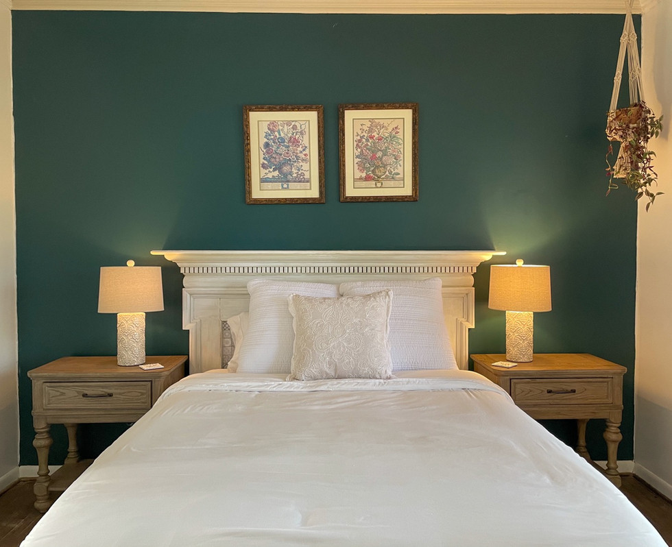 Luxury Room at Fayetteville's finest bed & breakfast