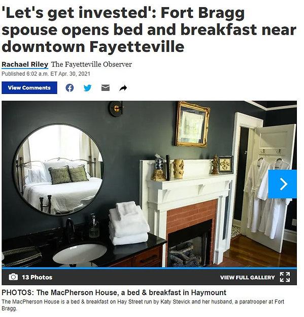 Fayetteville Observer Article.jpg
