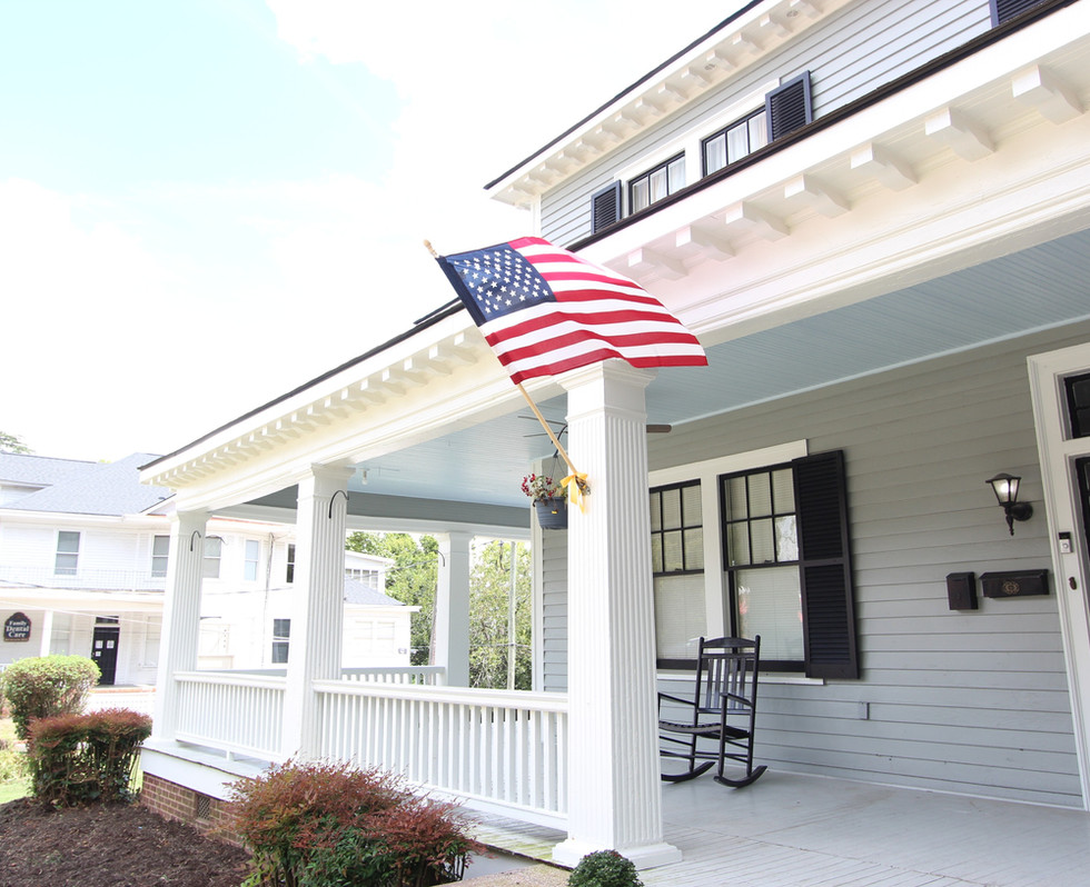 Fort Bragg Lodging at MacPherson House Bed & Breakfast in Fayetteville NC