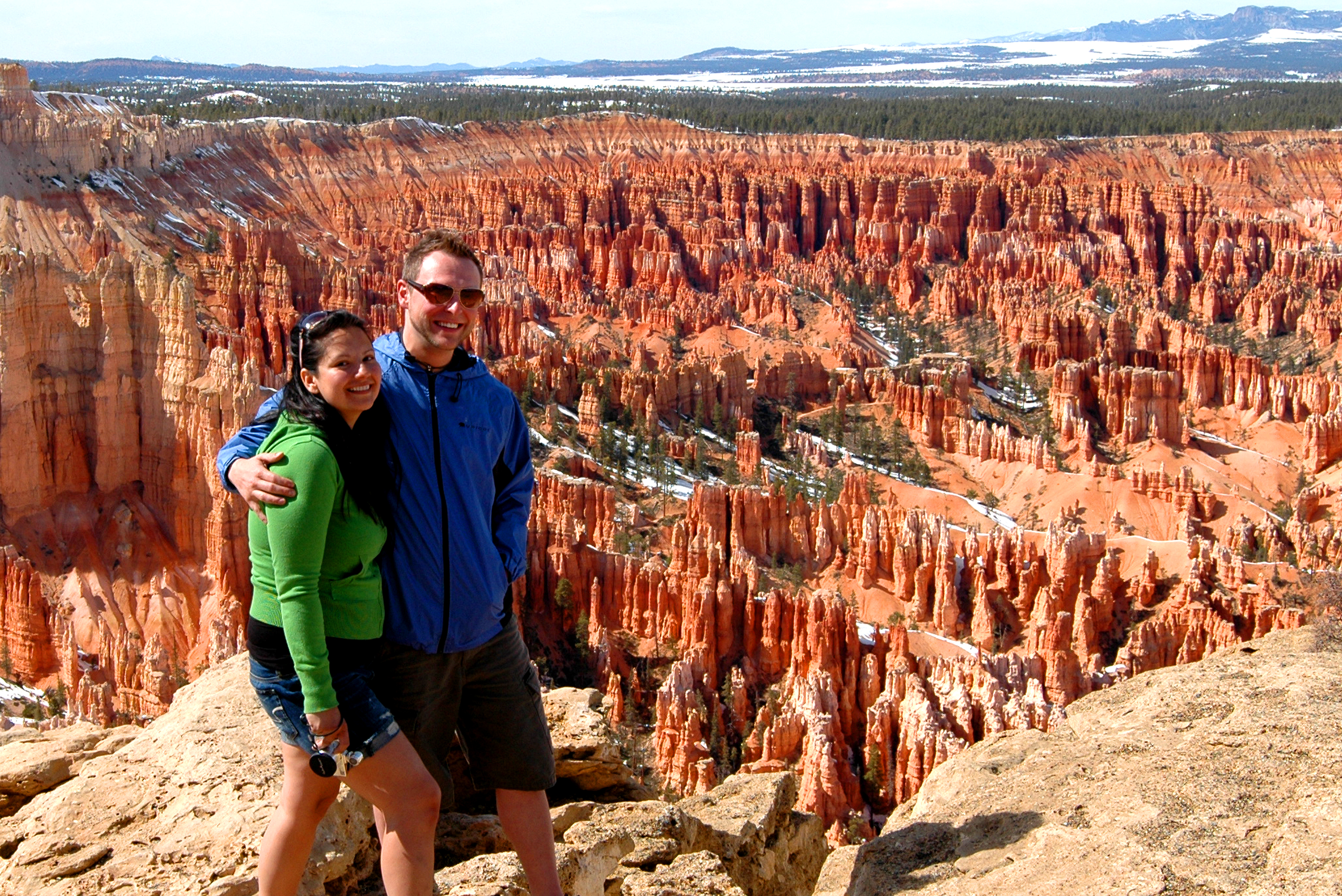 Bryce Canyon Couple at Rim