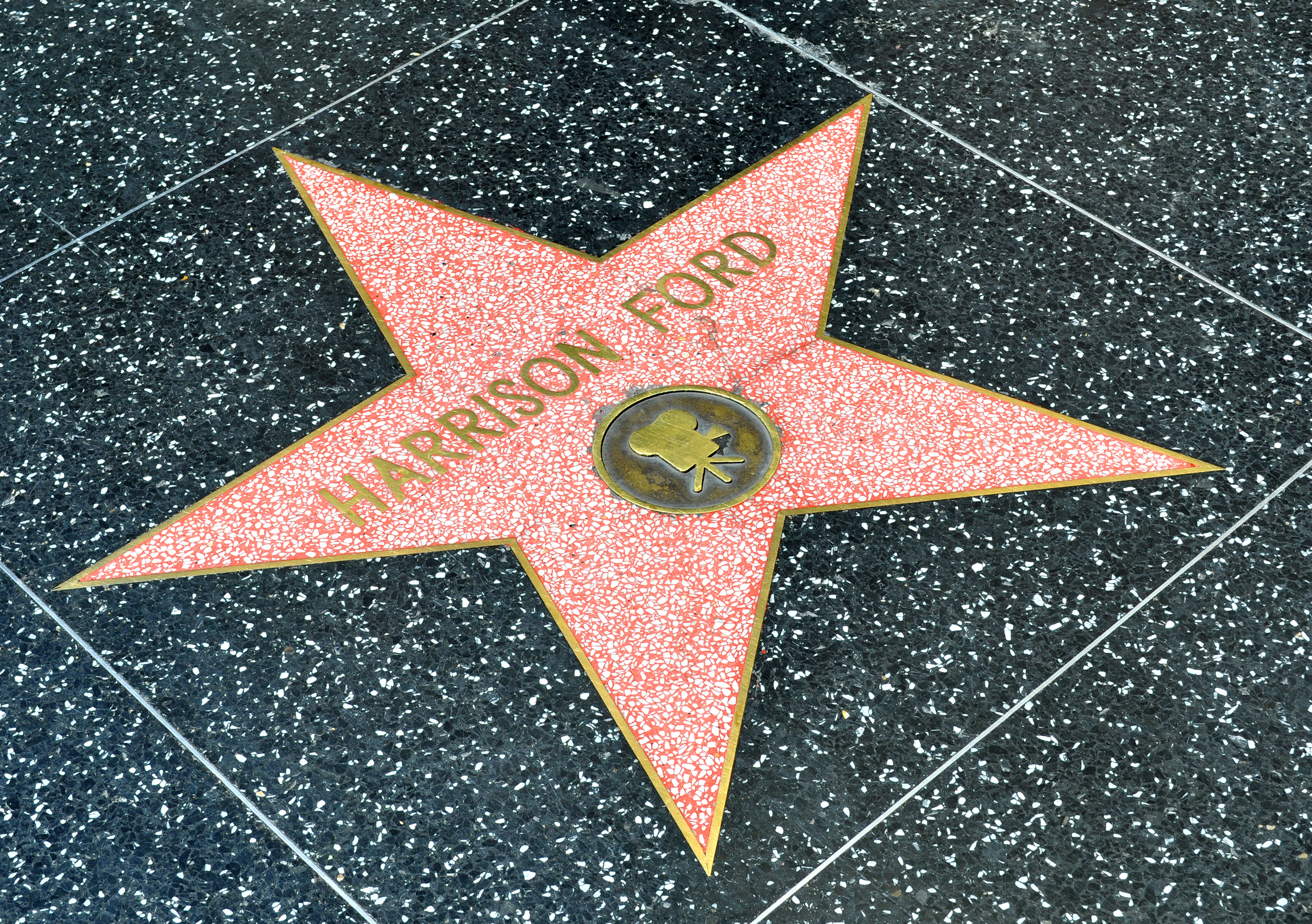 Harrison Ford Star, Walk of Fame