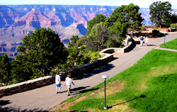 Rim Trail, Bright Angel Point, Tours
