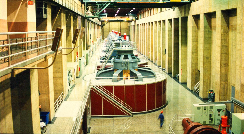 Hoover Dam Generator Room