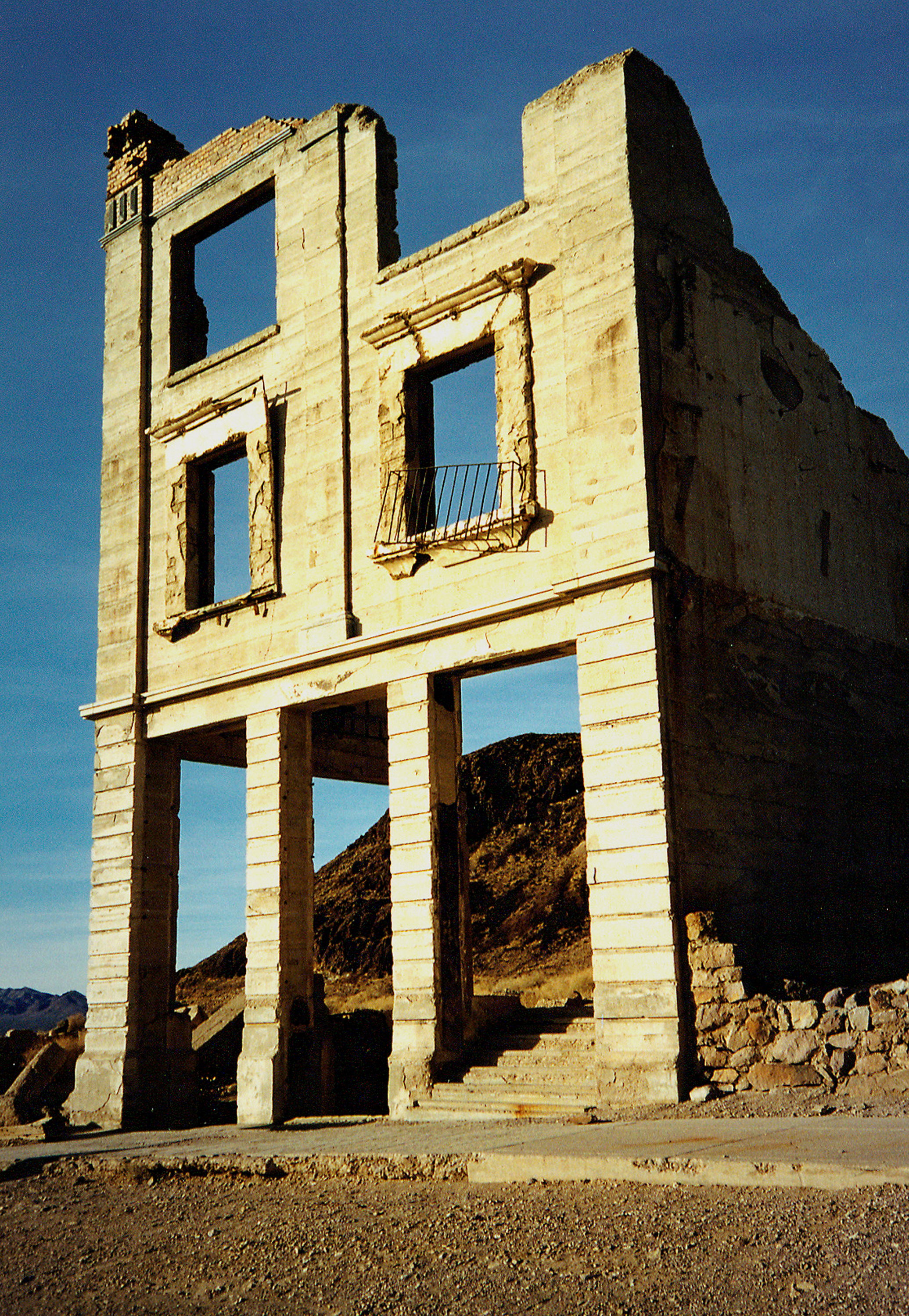 Rhyolite Ghost Town Death Valley