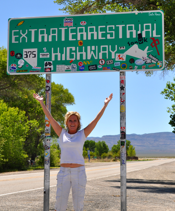 Area 51 Highway Sign