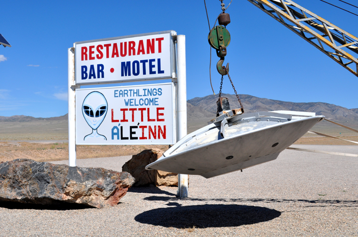 Area 51 Little A'Le' Inn Sign