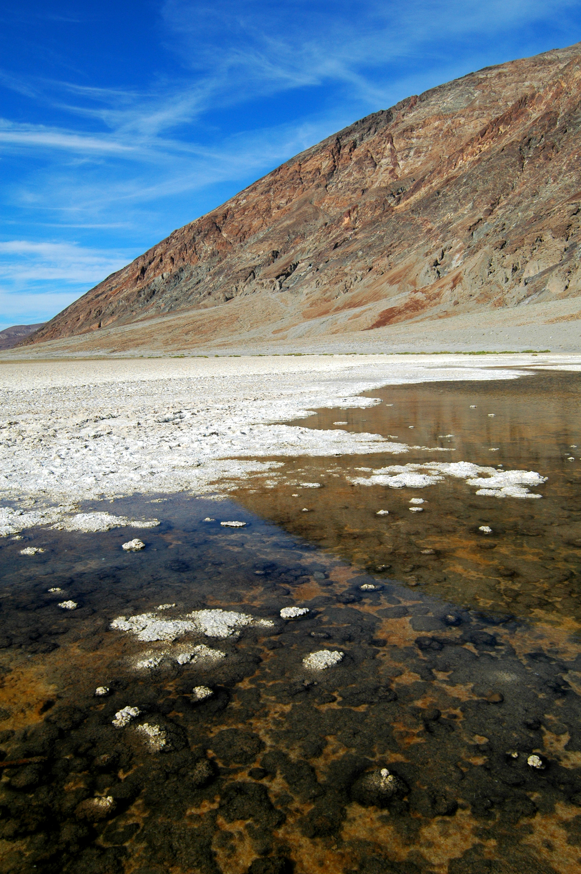 Badwater 282 feet below Sea Level