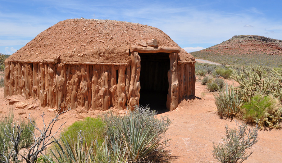 Adobe House at Grand Canyon West Rim