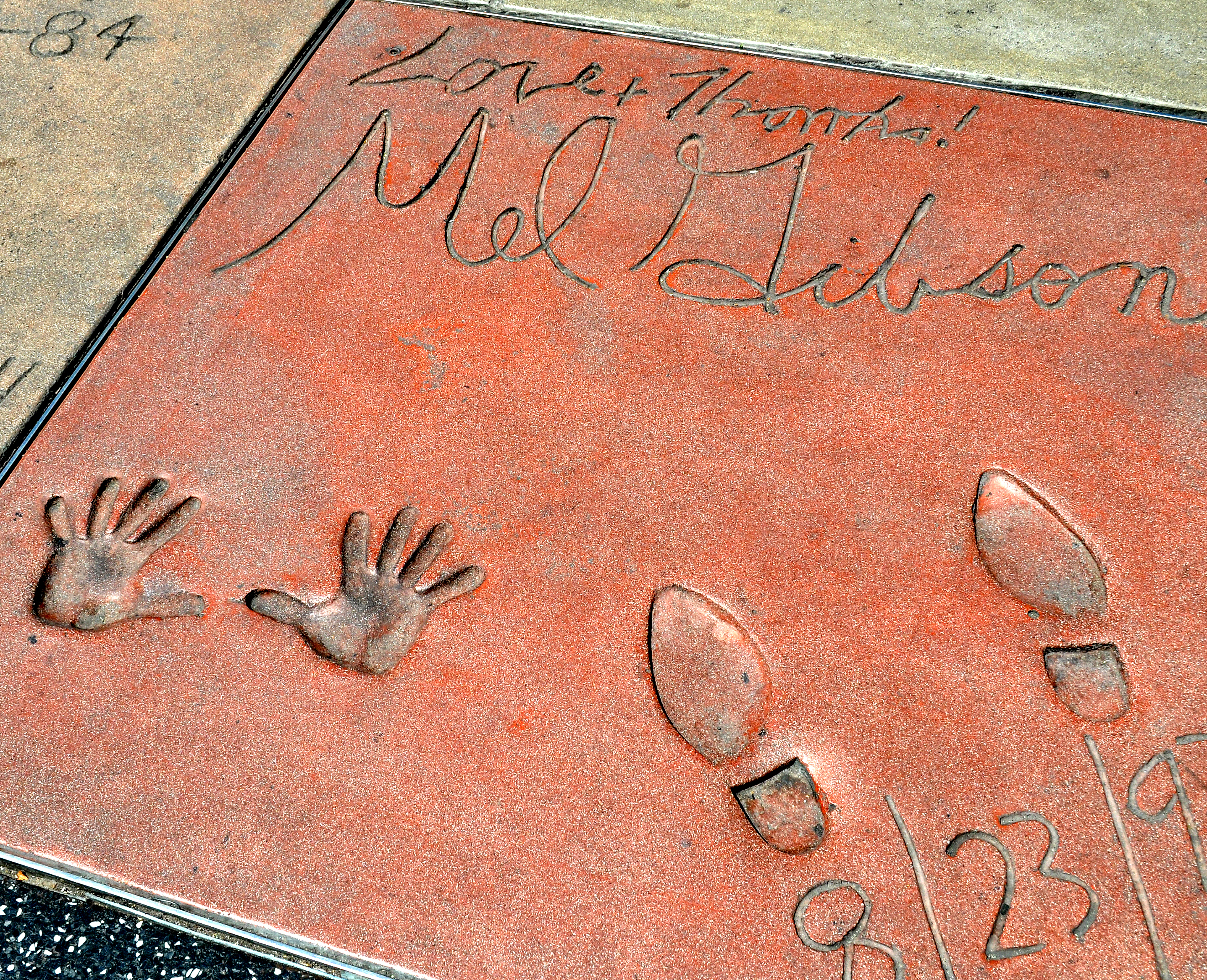 Mel Gibson prints
