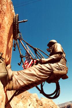 Hoover Dam Climber Statue